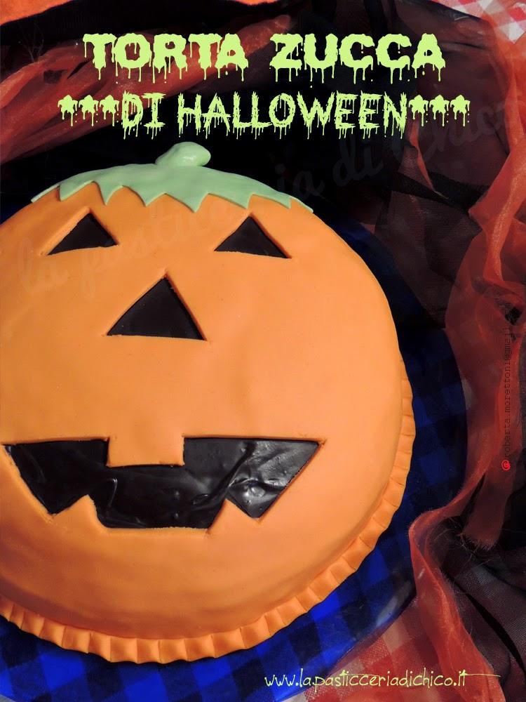 Torta zucca di Halloween - www.lapasticceriadichico.it