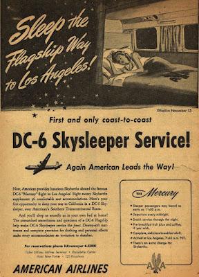 DC-6 Skysleeper Service