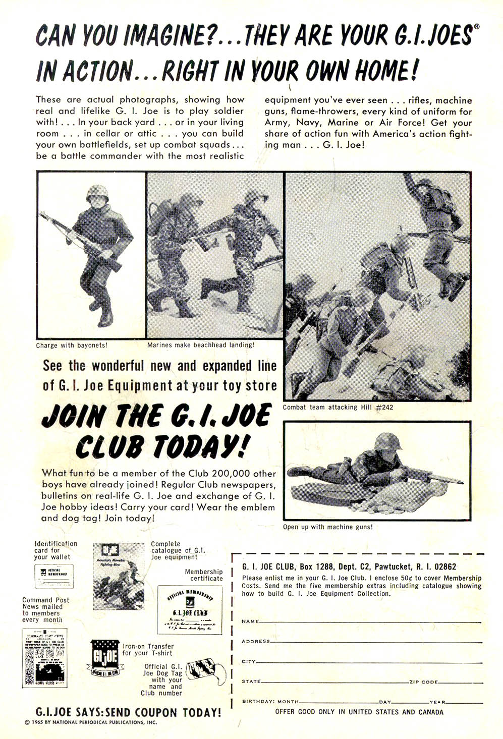 Strange Adventures (1950) issue 181 - Page 2