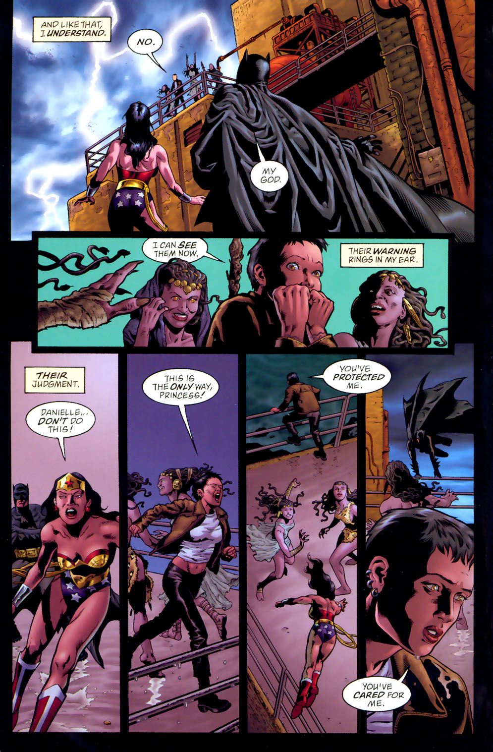 Read online Wonder Woman: The Hiketeia comic -  Issue # Full - 96