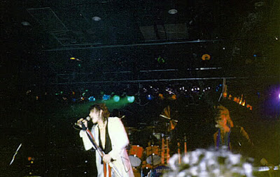 "January 6, 1984 Aerosmith at the Fountain Casino with Jimmy Crespo on guitar during the ""Rock In A Hard Place"" Tour"