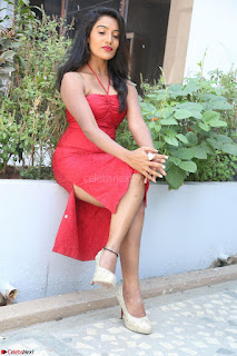 Mamatha sizzles in red Gown at Katrina Karina Madhyalo Kamal Haasan movie Launch event 046.JPG