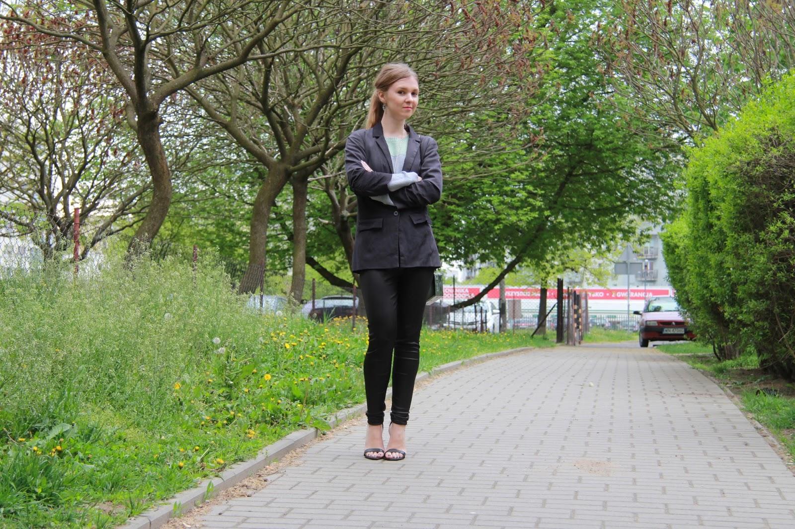 pomysł na #outfit legginsy