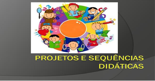 """Apresentação em tema: """"Projetos e Sequências Didáticas""""— Transcrição da apresentação:"""