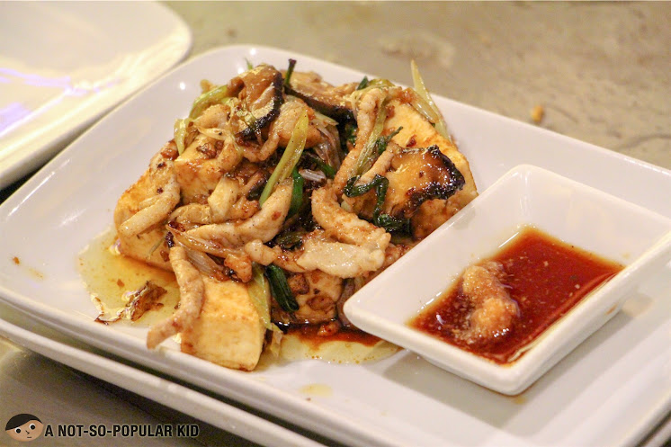The indulgent Tofu Steak of Kimpura Restaurant, Greenbelt