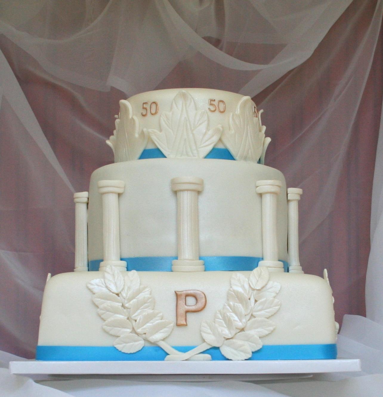 Greek Mythology Party Theme Google Search: Roseland Bakery Girl: Big, Fat, Greek Cake