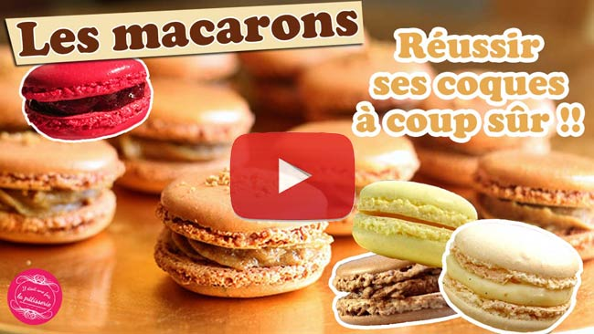 video macarons meringue italienne