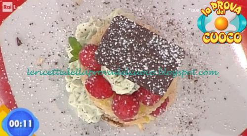 French tost con yogurt alla vaniglia e lamponi ricetta Improta da Prova del Cuoco