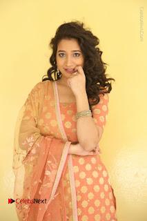 Telugu Actress Santoshi Sharma Latest Stills in Salwar Kameez at HBD Movie Teaser Launch  0003.JPG