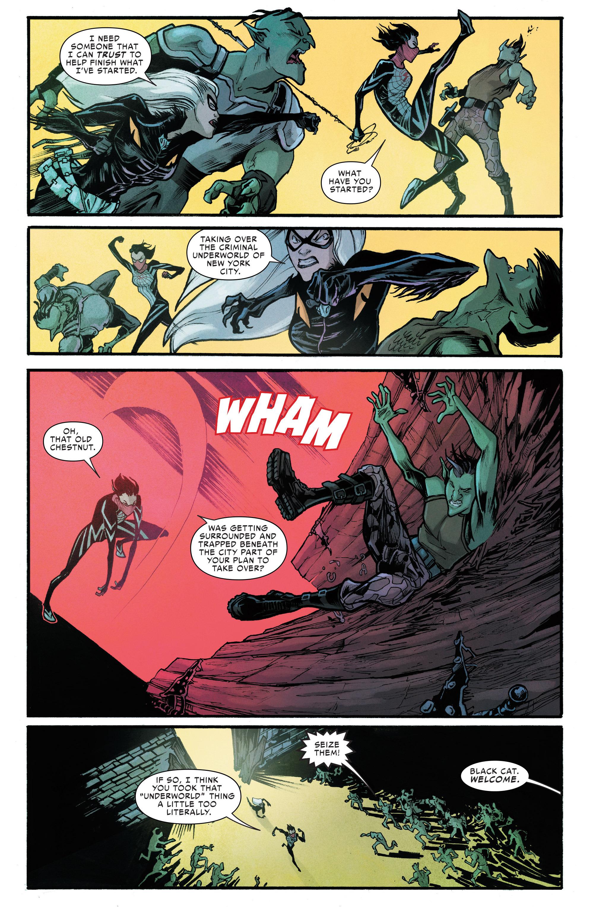 Read online Silk (2016) comic -  Issue #6 - 11