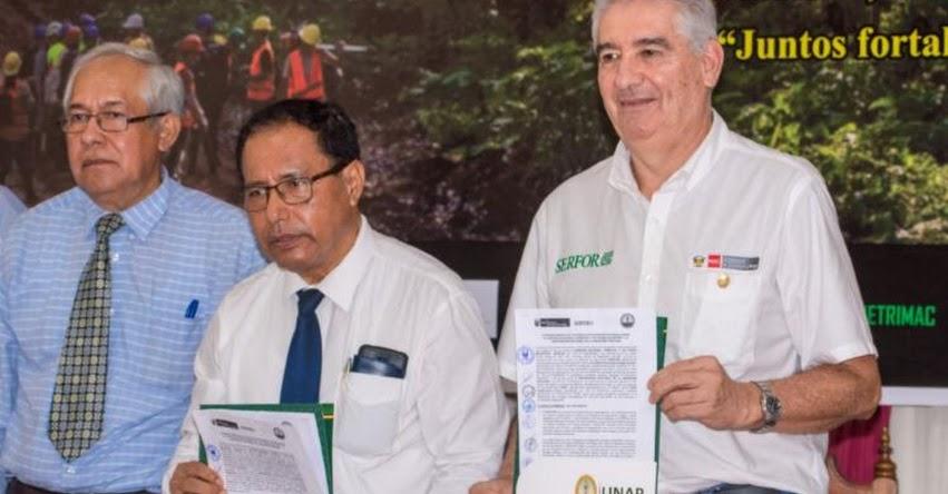 SERFOR y UNAP se unen para fortalecer colecciones científicas de flora de Amazonía peruana