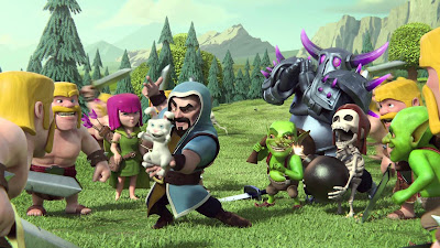 Download Game Clash of Clans dan Cara Mainnya