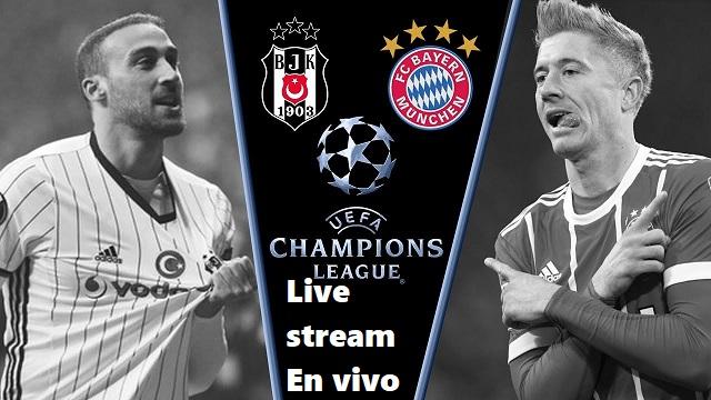 Image result for Bayern Munich vs Besiktas Live