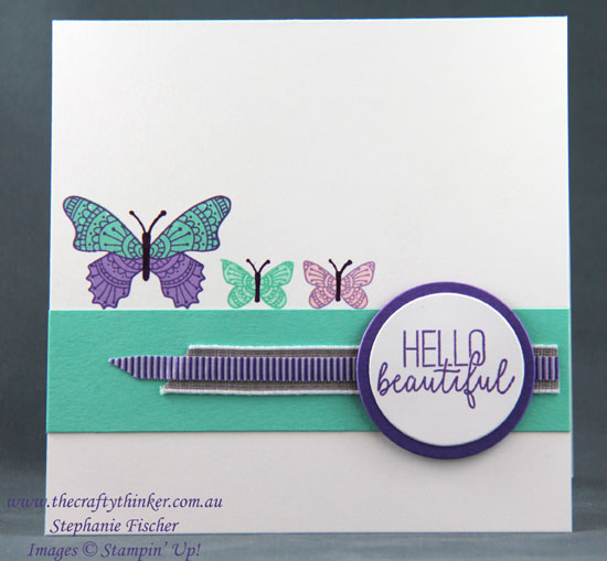 #thecrazycrafter  #butterflygala  #crazycraftersbloghop #cardmaking #stampinup , Butterfly Gala, Crazy Crafters Blog Hop, 2019 Occasions Catalogue, Stampin' Up Australia Demonstrator, Stephanie Fischer, Sydney NSW
