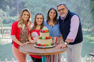 Beca, Mara, Carol Fiorentino e Fasano - Crédito: Artur Igrecias/SBT