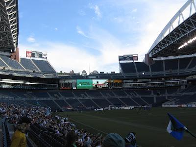 Century Link Field, Seattle, Seattle Sounders, Sounders, Portland, Portland Timbers. USL Soccer, 2006 season