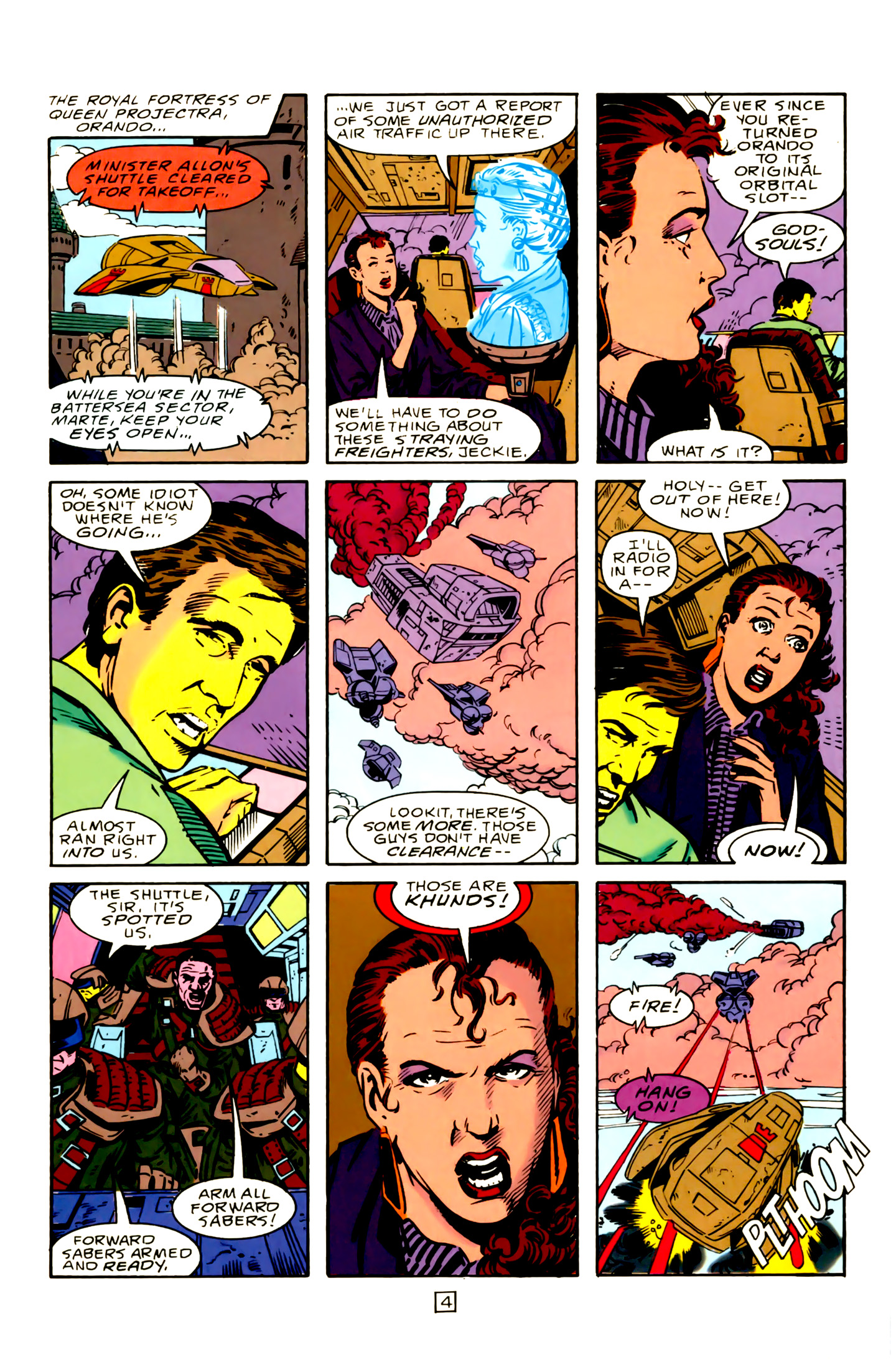 Legion of Super-Heroes (1989) 15 Page 4
