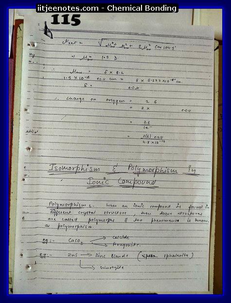 Chemical-Bonding Notes class 11-19