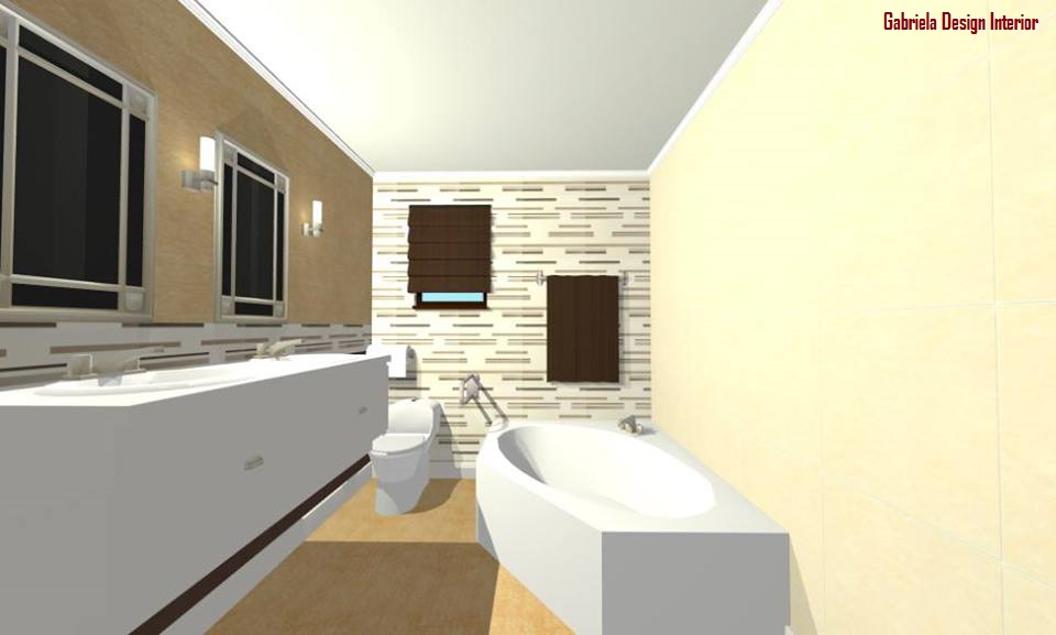 Design interior baie casa