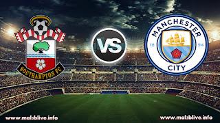 مشاهدة مباراة مانشستر سيتي وساوثهامتون Manchester city vs Southampton fc بث مباشر بتاريخ 29-11-2017 الدوري الانجليزي