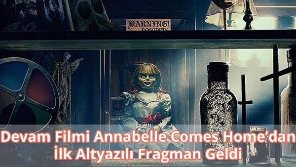 Annabelle Comes Home Altyazılı Fragman İzle