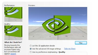 Cara Setting Grafis Game 3D Pada NVidia