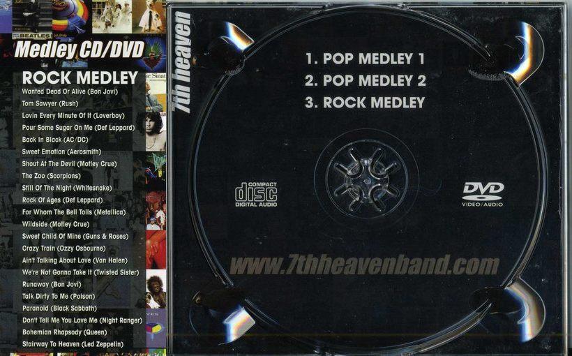 7th HEAVEN - Pop Medley 3 & Rock Medley - disc