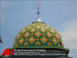 Produsen Kubah Masjid Enamel Dan Galvalum Terpercaya