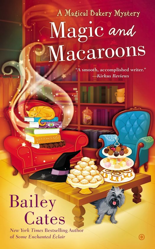 Guest Blog by Bailey Cates, author of the Magical Bakery Mysteries - July 4, 2015