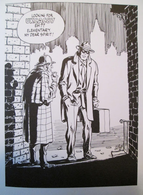 Will Eisner - Sherlock Holmes and the Spirit
