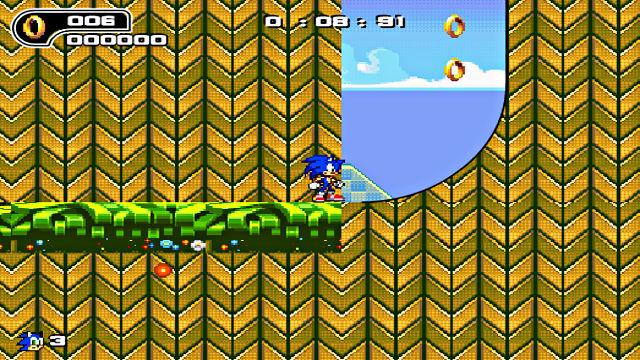 Ultimate Flash Sonic - Image du Jeu