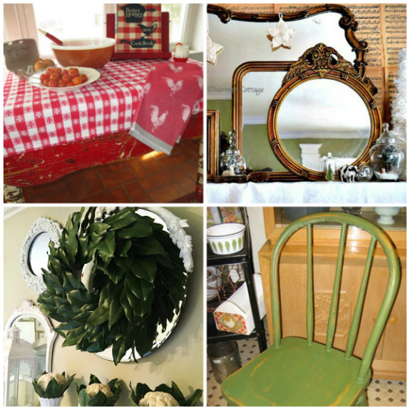 Vintage Charm Party 15 mythriftstoreaddiction.blogspot.com  Weekly Features Collage