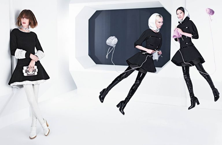 Newsflash: Chanel's FULL Fall/Winter 2013 Ad Campaign Shot by Karl Lagerfeld