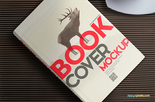 Download Gratis Mockup Majalah, Brosur, Buku, Cover - Free Hardcover Book Mockup