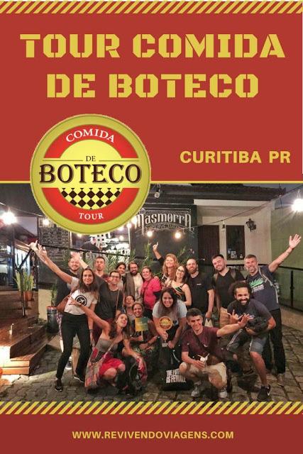 Tour Comida de Boteco em Curitiba