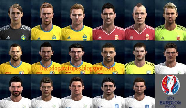 PES 2013 Facepack Euro 2016