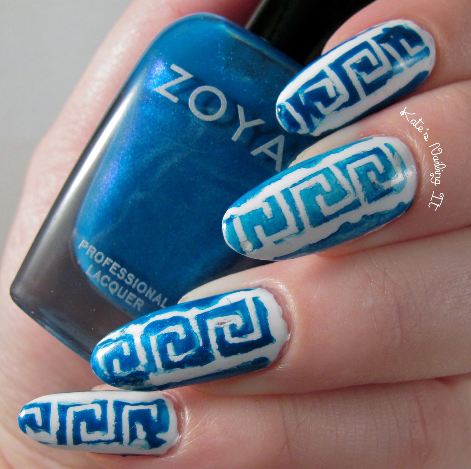 Kate S Nailing It Oxi Day Nail Art