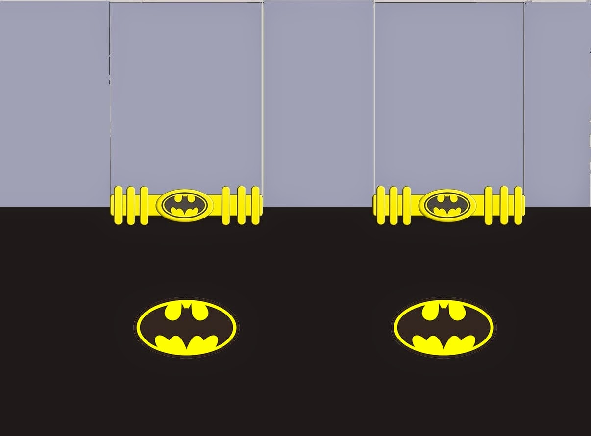 Batman Free Printable Labels