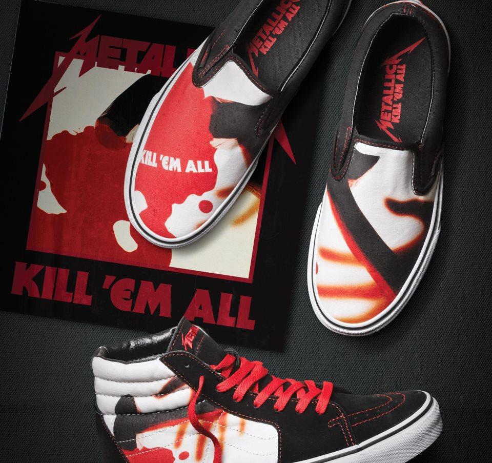 Horns+Up+Rocks+Metallica+Kill+Em+All+Van