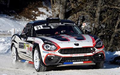 Πρεμιέρα με 2η θέση για το Fiat 124 Rally
