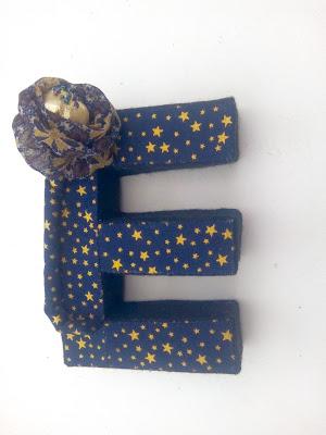 Le E des lettres créatives de Léa Stansal