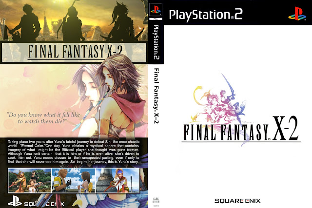 Capa Final Fantasy X-2 PS2