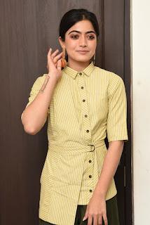 Rashmika Mandanna Latest Interview Stills