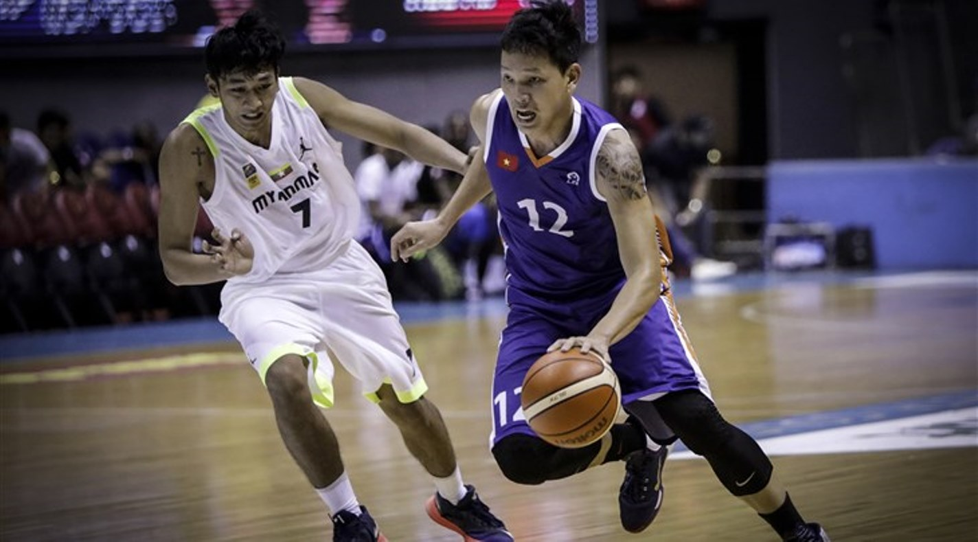 12 Phuoc Thang Le (VIE) - Myanmar v Vietnam, 2017 SEABA Men Championship (PHI), Manila - Smart Araneta Coliseum
