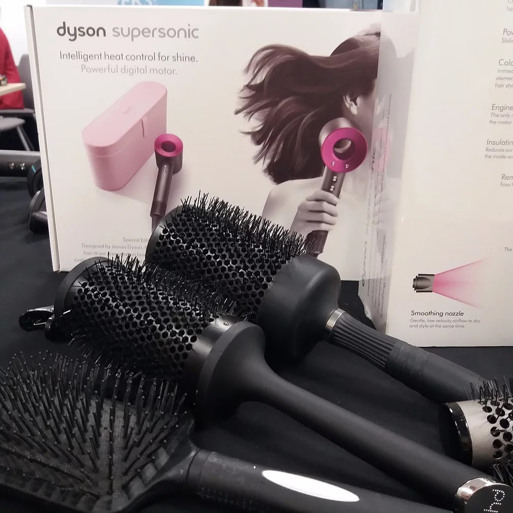 Dyson Supersonic Hair brushes