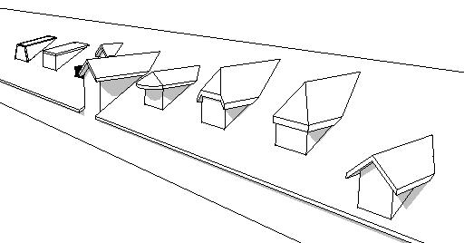 Revit-Mémo: Revit 2013_Toiture_Lucarnes de toit