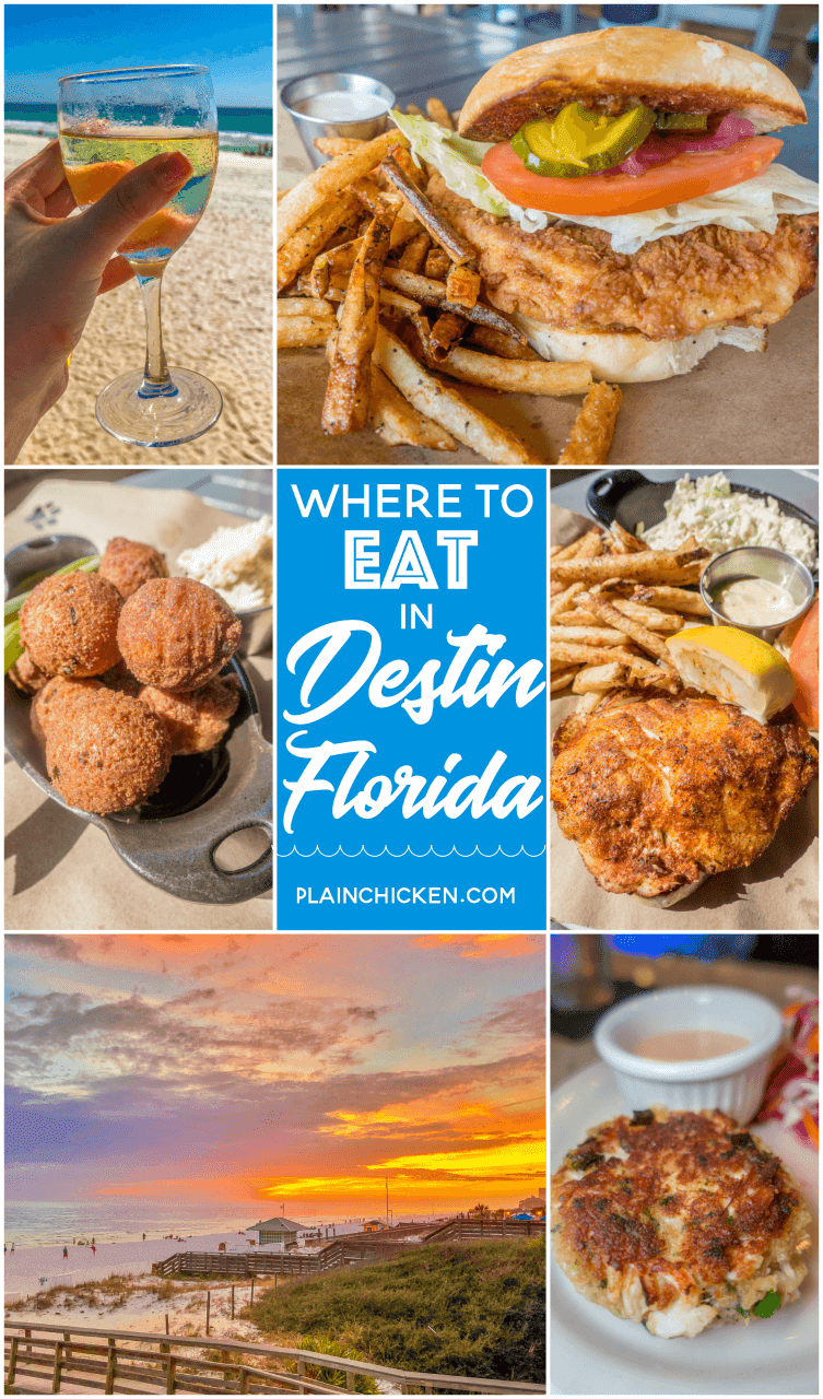 Where To Eat In Destin Fl Sandestin Great Places