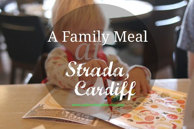 a review of a three course meal at strada in cardiff bay as a family including a toddler
