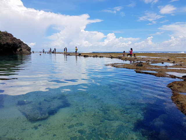 Rock Pool at Magpupungko, Siargao