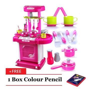 Set Dapur Mainan Hadiah Untuk Anak Perempuan Online Beli